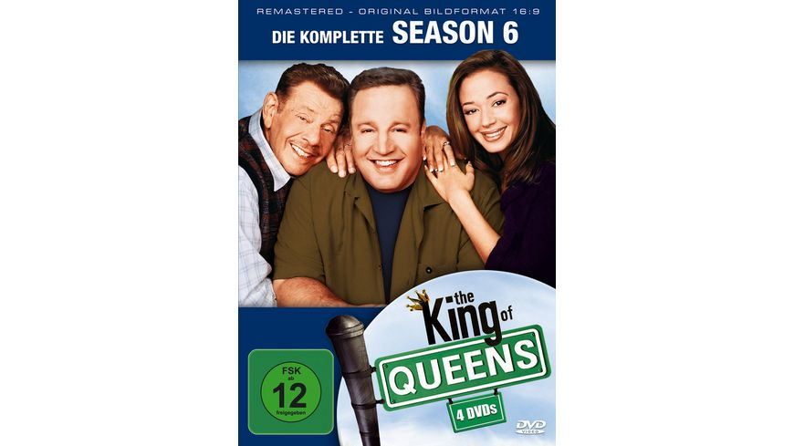 The King of Queens Season 6 4 DVDs