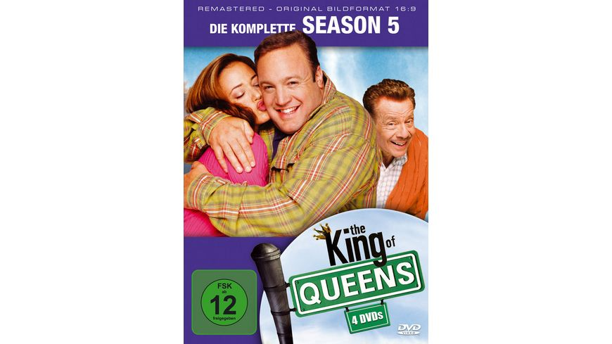 The King of Queens Season 5 4 DVDs