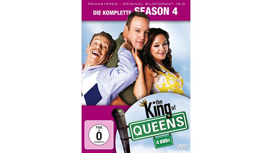 The King of Queens Season 4 Remastered 4 DVDs