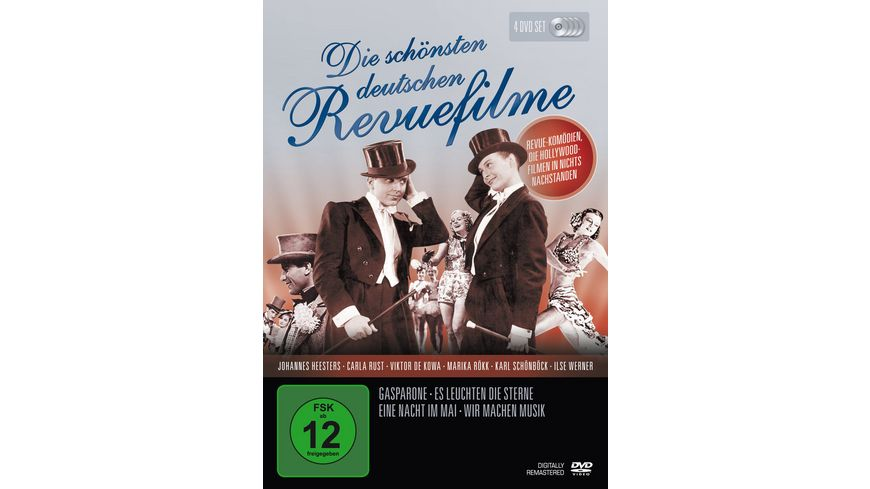 Die schoensten deutschen Revuefilme 4 DVDs