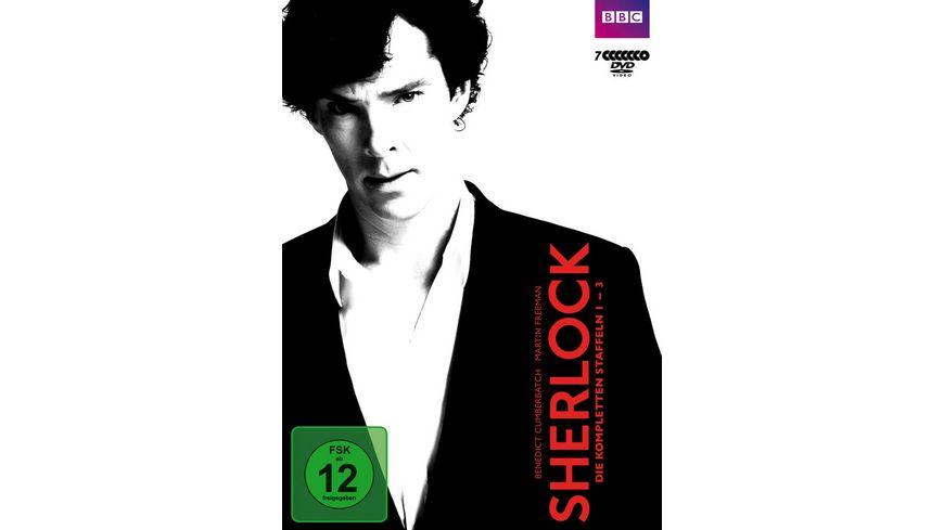 Sherlock Staffel 1 3 7 DVDs