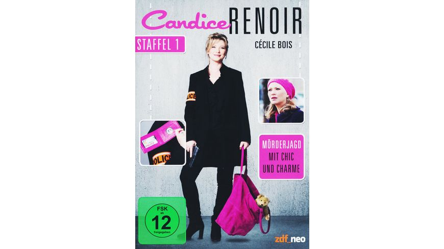 Candice Renoir Staffel 1 3 DVDs