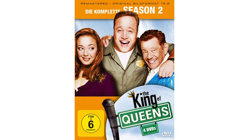 The King of Queens Season 2 Remastered 4 DVDs