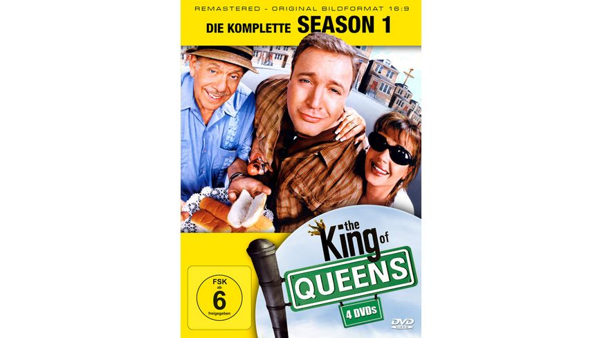 The King of Queens Season 1 Remastered 4 DVDs