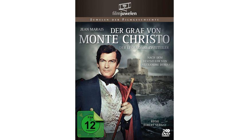 Der Graf von Monte Christo 1954 Filmjuwelen 2 DVDs