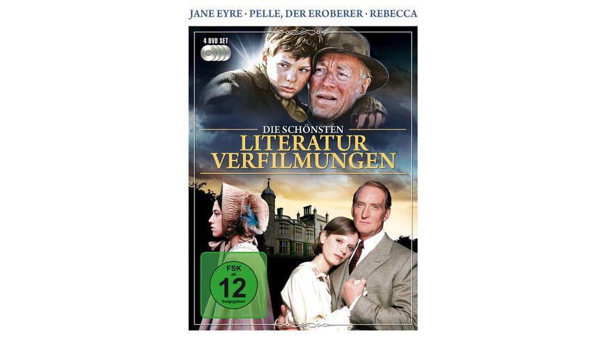 Die schoensten Literaturverfilmungen 4 DVDs