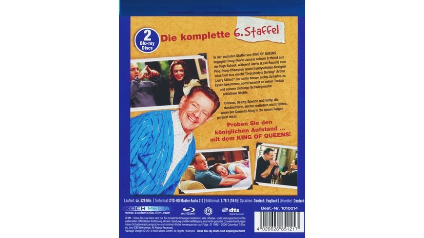 The King of Queens Die komplette Staffel 6 2 BRs