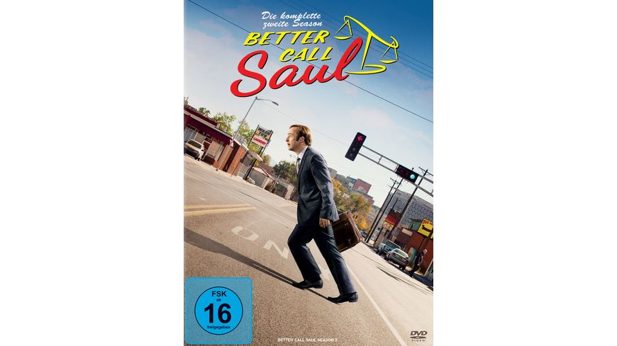 Better Call Saul Die komplette zweite Staffel 3 DVDs