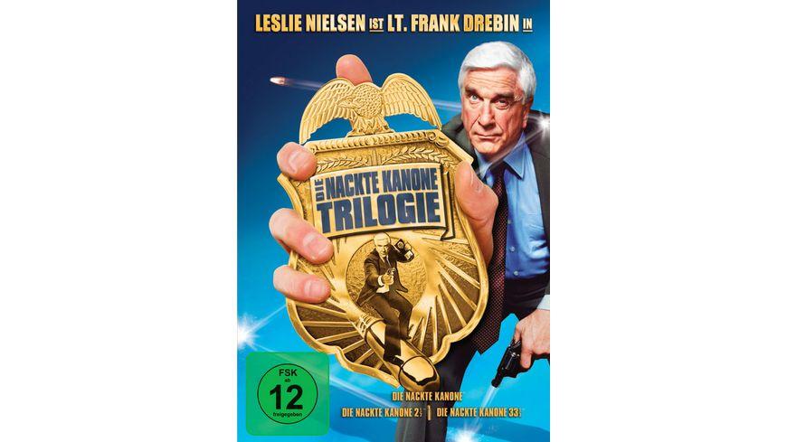 Die nackte Kanone Box Set 3 DVDs