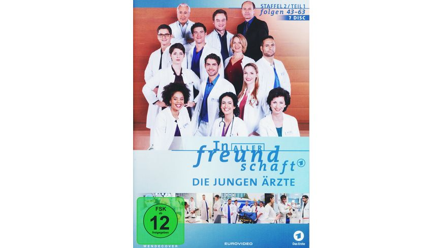 In aller Freundschaft Die jungen Aerzte Staffel 2 1 Folgen 43 63 7 DVDs