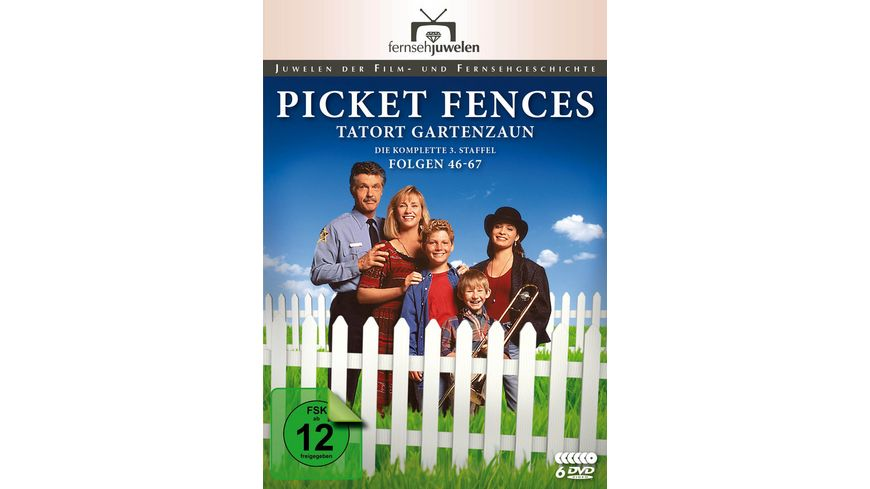 Picket Fences Tatort Gartenzaun Die komplette Staffel 3 6 DVDs