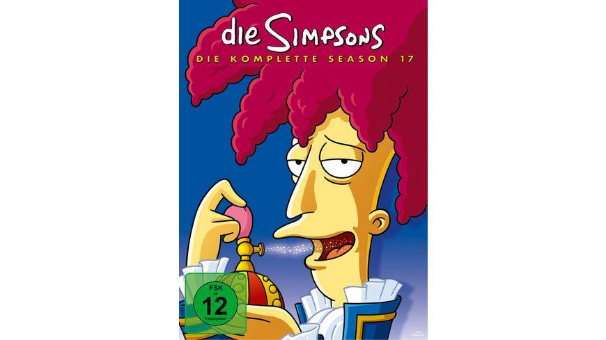 Die Simpsons Season 17 CE 4 DVDs