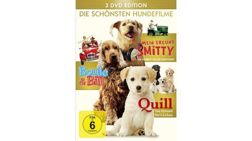 Die schoensten Hundefilme Quill Mein Freund Smitty Boule Bill 3 DVDs