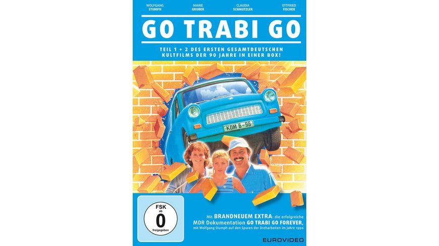 Go Trabi Go Teil 1 2 2 DVDs