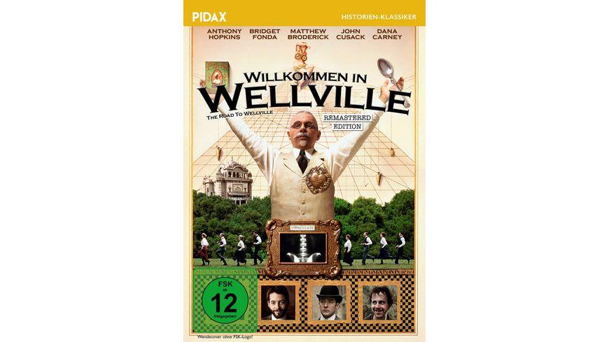 Willkommen in Wellville The Road to Wellville Remastered Edition Kult Verfilmung mit Starbesetzung des Romans von T C Boyle Pidax Film Klassiker