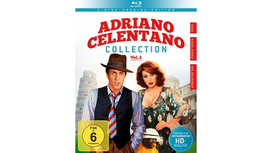 Adriano Celentano Collection Vol 2 SE 3 BRs