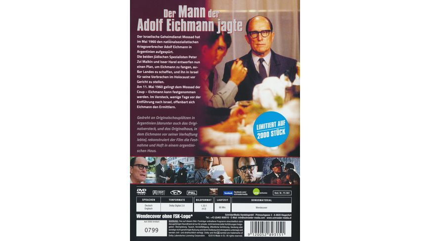 Der Mann der Adolf Eichmann jagte LE