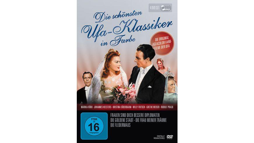 Die schoensten UFA Klassiker in Farbe 4 DVDs