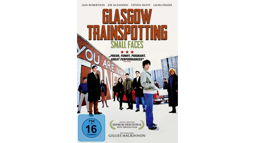 Glasgow Trainspotting Small Faces