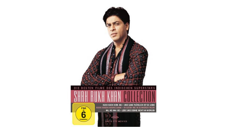 Shah Rukh Khan Collection 3 DVDs