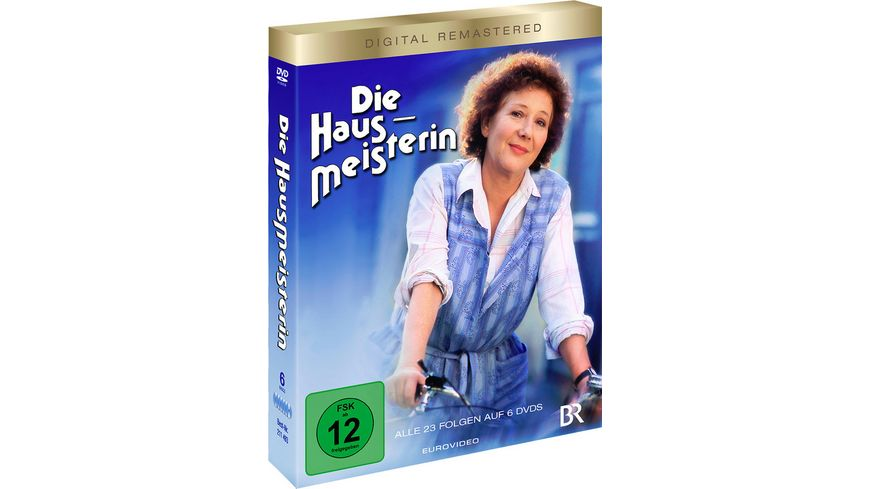 Die Hausmeisterin Komplettbox Digital Remastered 6 DVDs