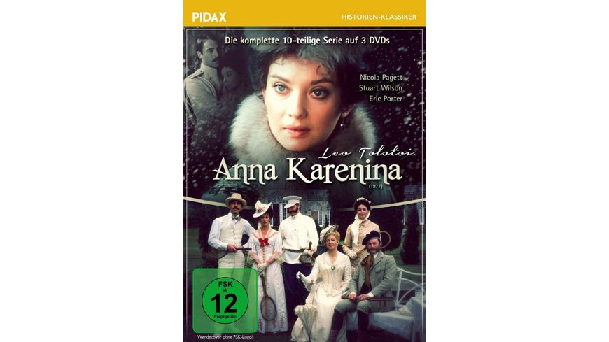 Anna Karenina 3 DVDs
