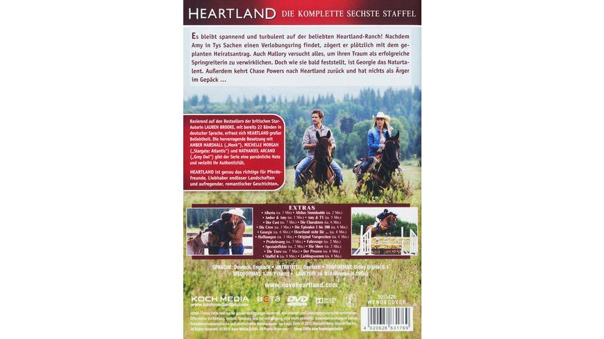 Heartland Paradies fuer Pferde Staffel 6 6 DVDs