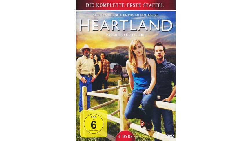 Heartland Paradies fuer Pferde Staffel 1 4 DVDs
