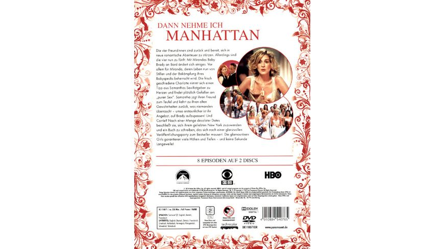 Sex and the City Season 5 White Edition 2 DVDs