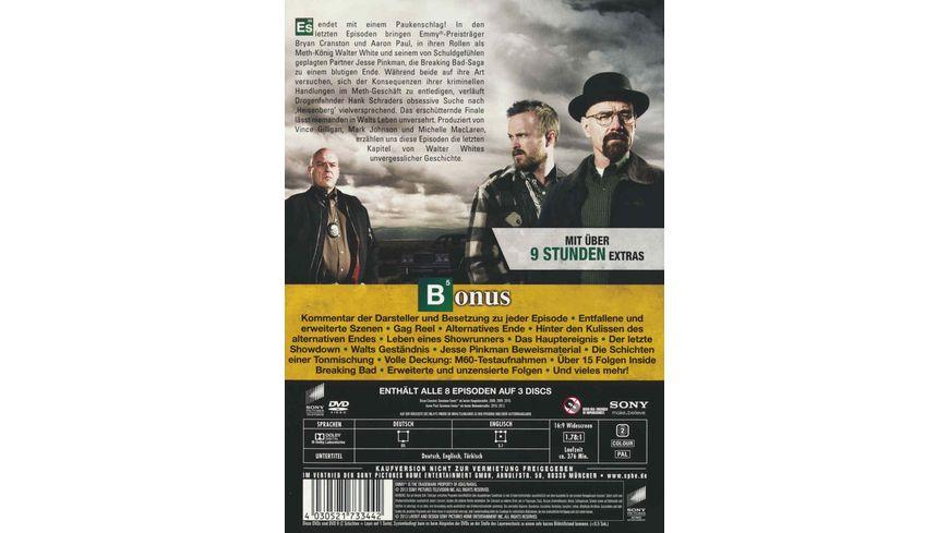 Breaking Bad Season 6 3 DVDs
