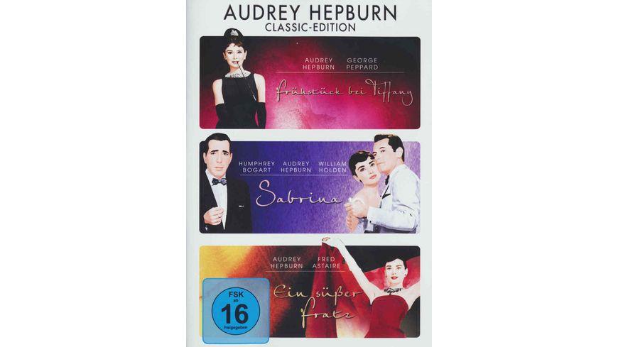 Audrey Hepburn Classic Edition 3 DVDs