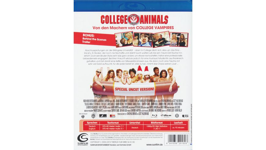 College Animals Special Uncut Version
