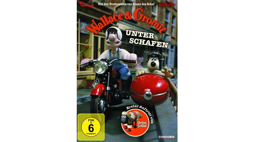 Wallace Gromit Unter Schafen