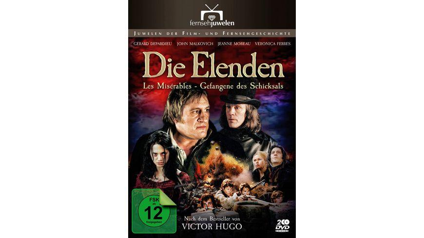 Die Elenden Gefangene des Schicksals 2 DVDs