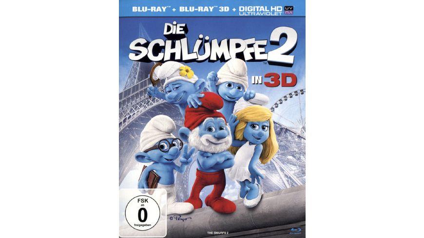 Die Schluempfe 2 Blu ray