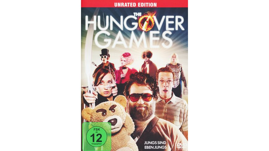 The Hungover Games Unrated Edition