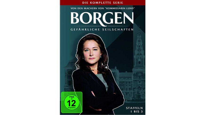 Borgen Die komplette Serie 11 DVDs