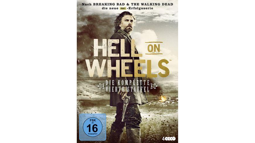 Hell on Wheels Die komplette vierte Staffel 4 DVDs