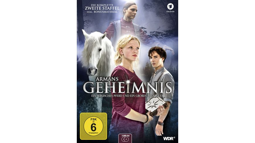 Armans Geheimnis Die komplette Staffel 2 2 DVDs