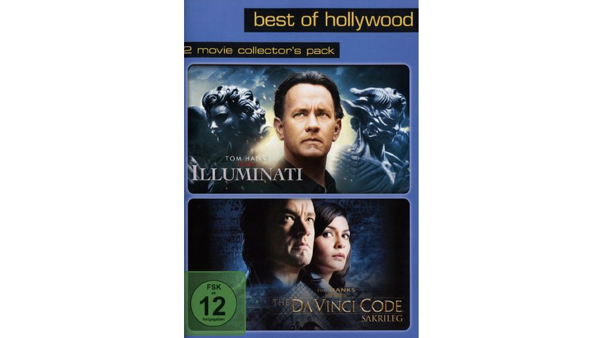 Illuminati The Da Vinci Code Sakrileg Best of Hollywood 2 Movie Collector s Pack 2 DVDs