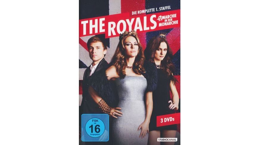 The Royals Staffel 1 3 DVDs