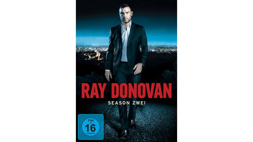 Ray Donovan Season 2 4 DVDs
