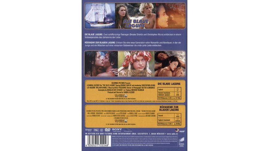 Die blaue Lagune Rueckkehr zur blauen Lagune Best of Hollywood 2 Movie Collector s Pack 2 DVDs