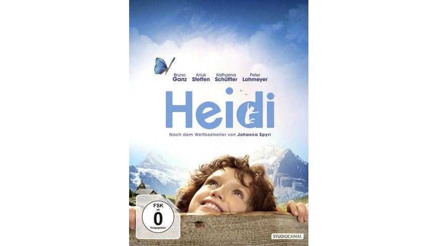 Heidi inklusive Booklet Postkartenset Poster SE