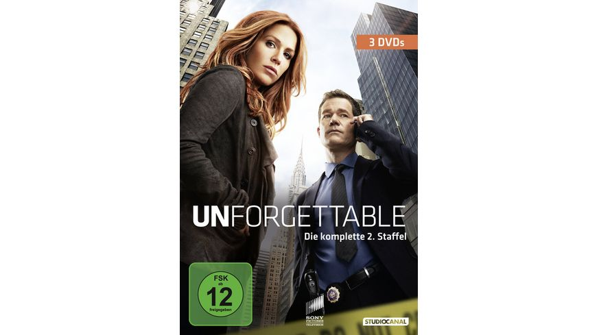 Unforgettable Staffel 2 3 DVDs