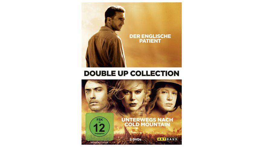 Der englische Patient Unterwegs nach Cold Mountain Double Up Collection 2 DVDs
