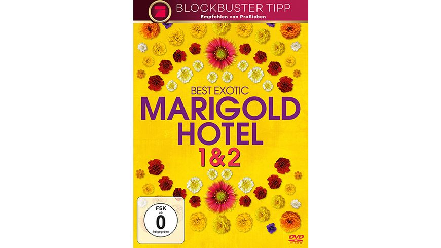Best Exotic Marigold Hotel 1 2 2 DVDs