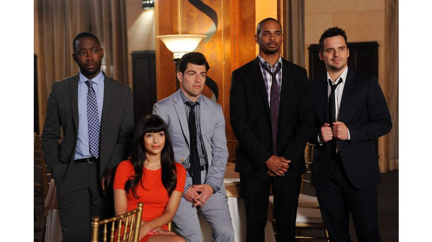 New Girl Season 4 3 DVDs