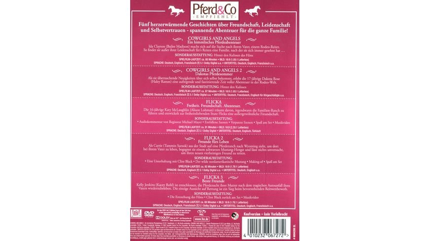 Pferde Box 5 DVDs