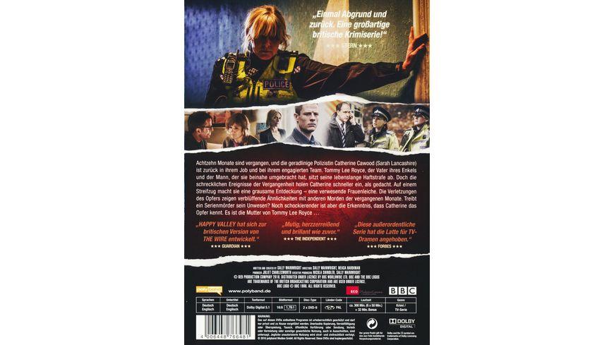 Happy Valley In einer kleinen Stadt Staffel 2 2 DVDs